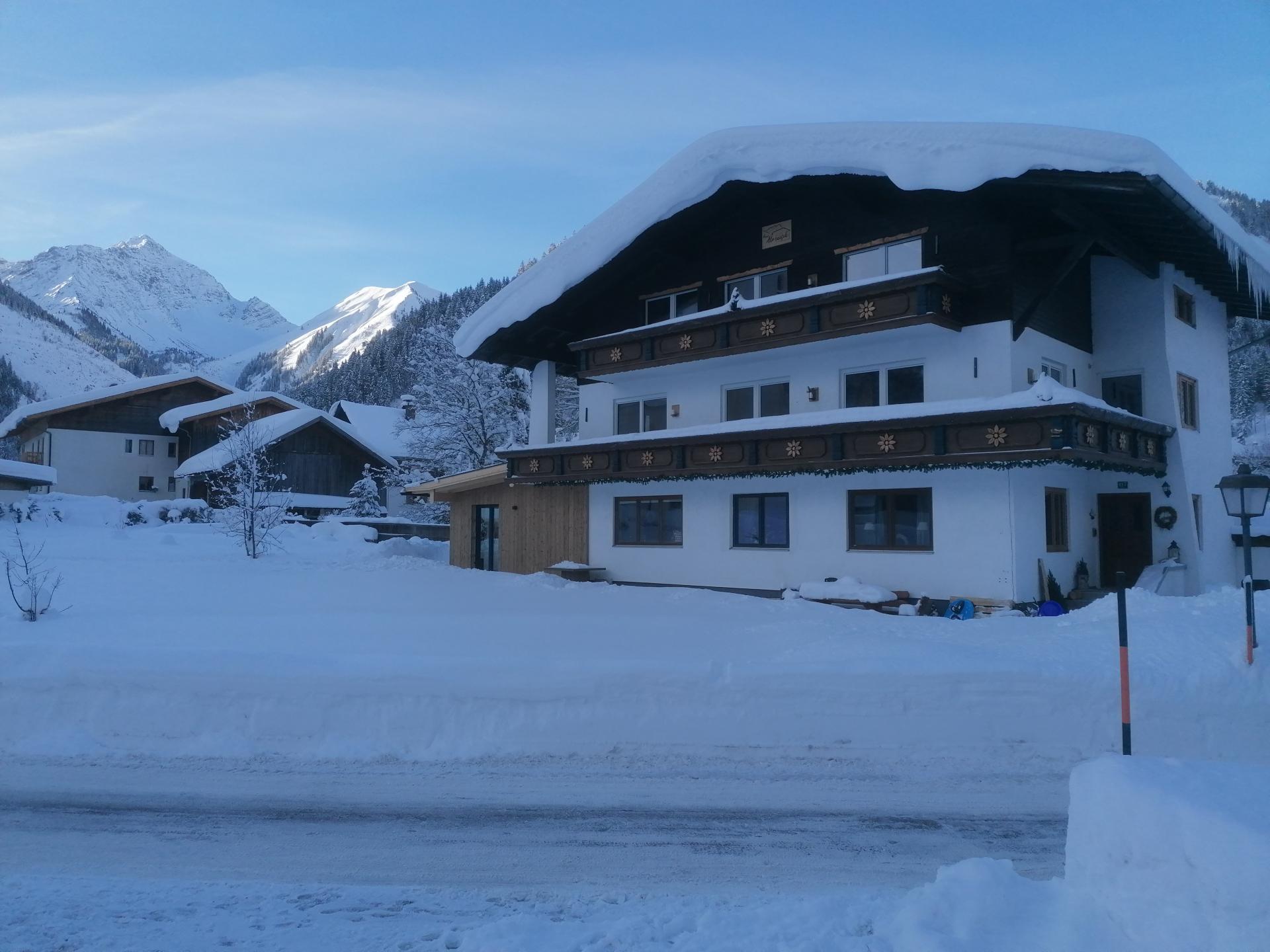 Ferienwohnungen Haus Almrausch #Willkommen#Bildergalerie#Winter