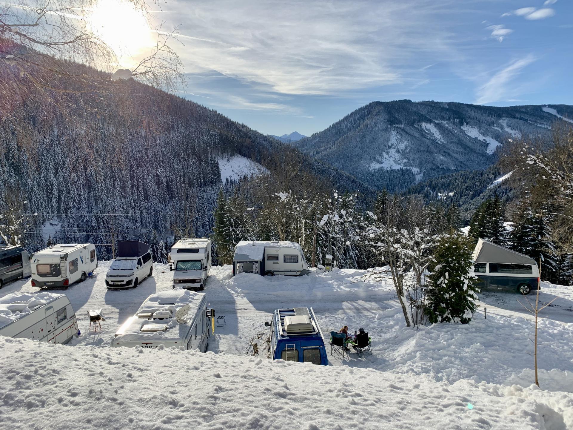 Camping Dachstein und Pension Gsenger #Bildergalerie