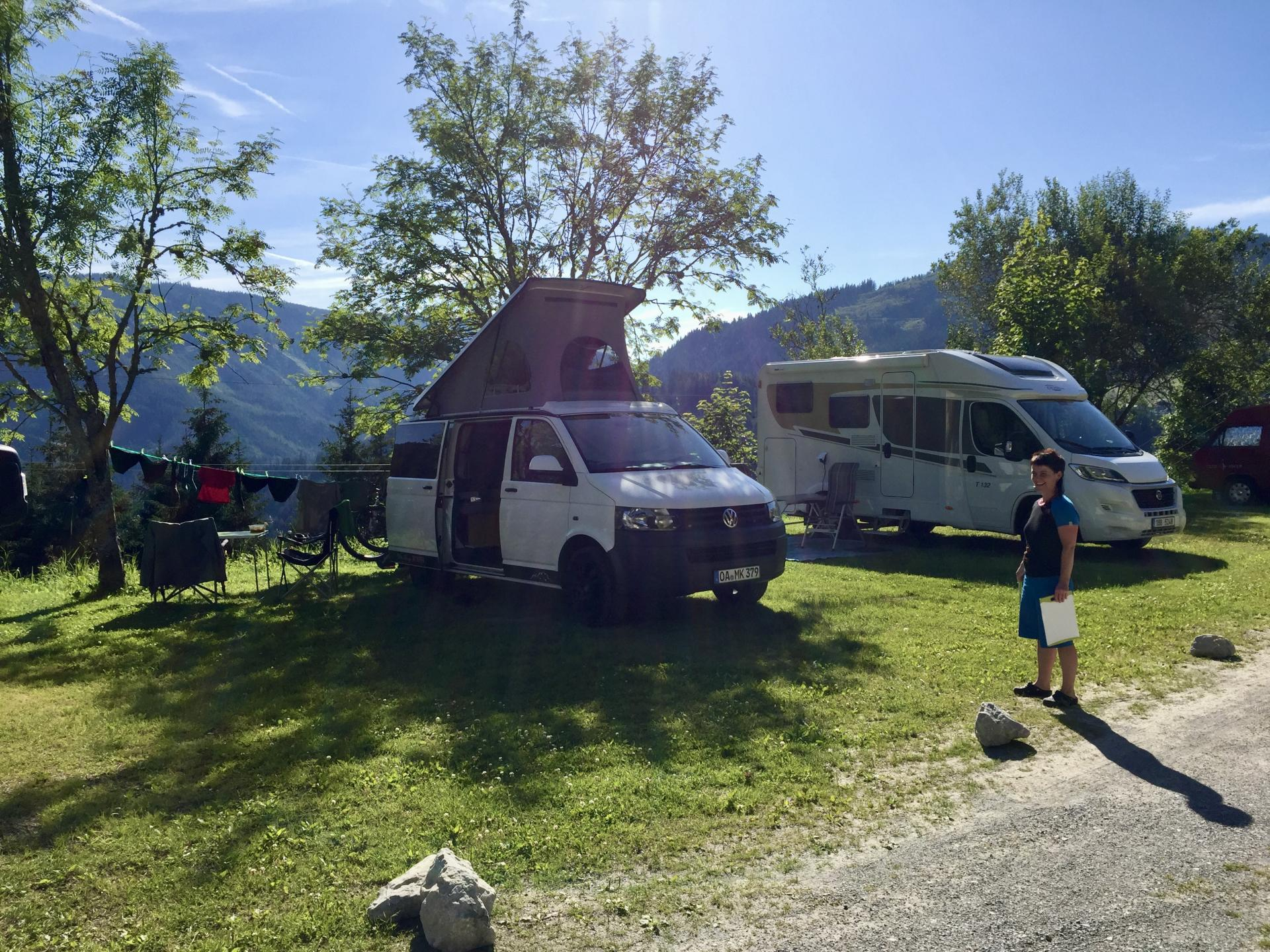Camping Dachstein und Pension Gsenger #Camping