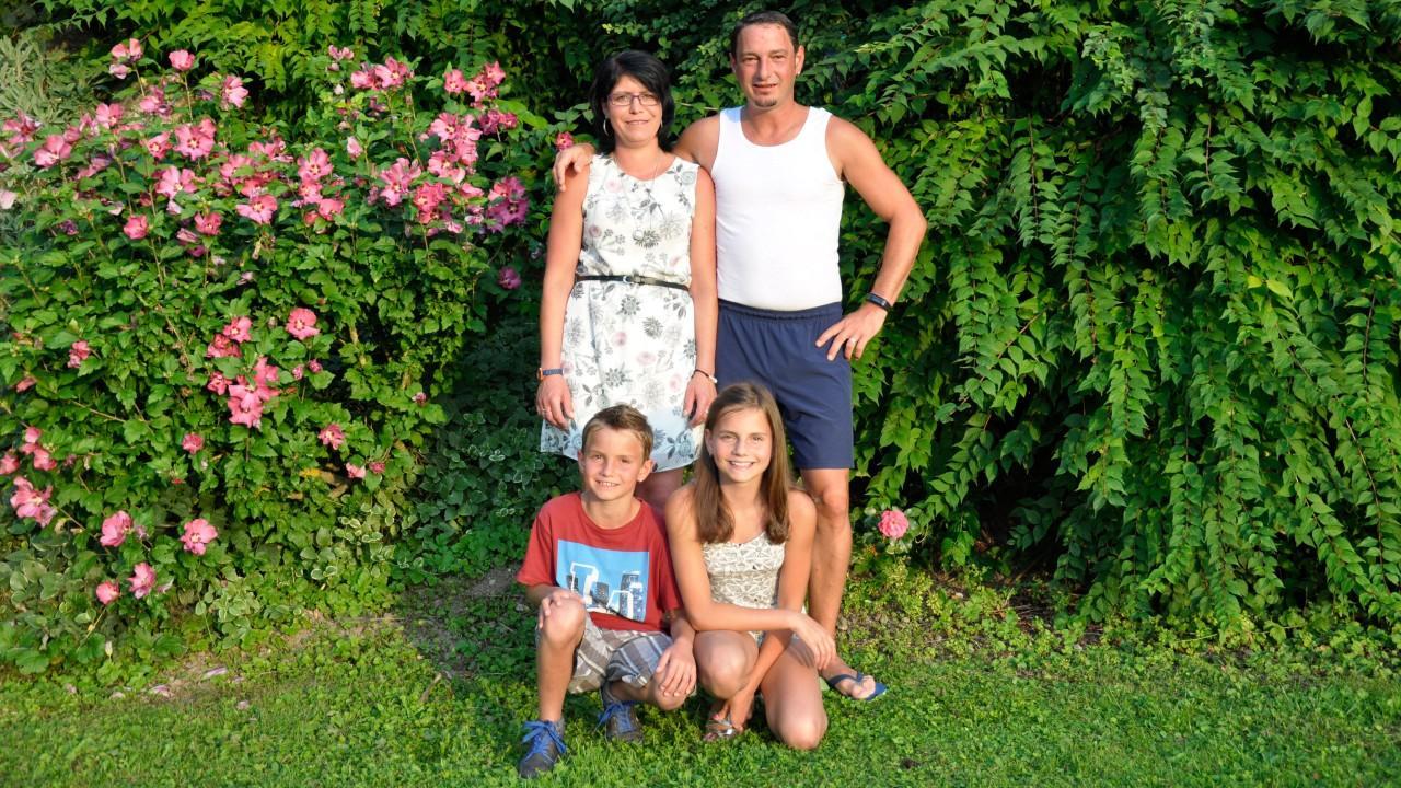 Gastgeberfamilie Frischmann Klaudia