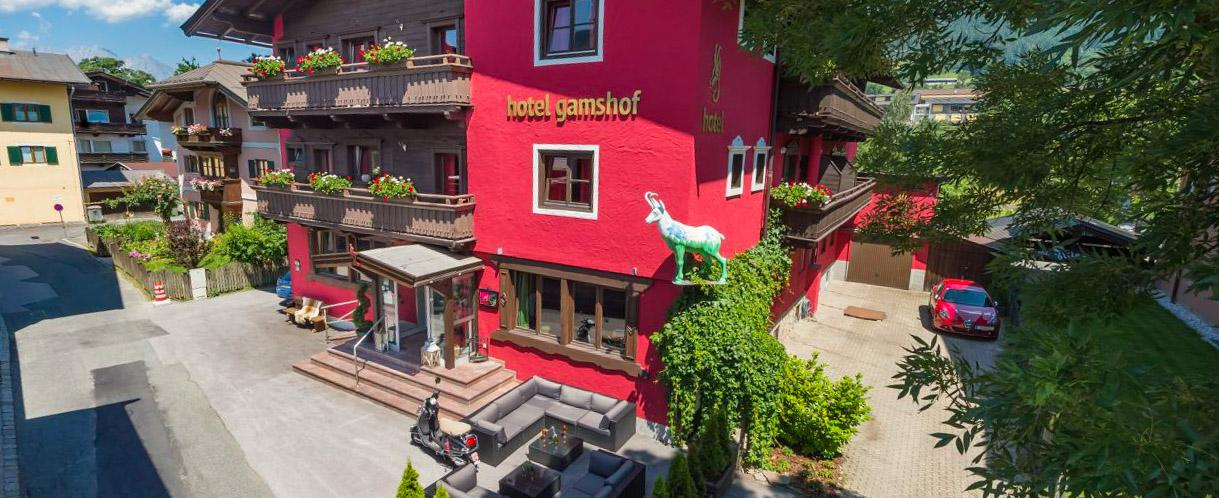 Hotel Gamshof #Willkommen
