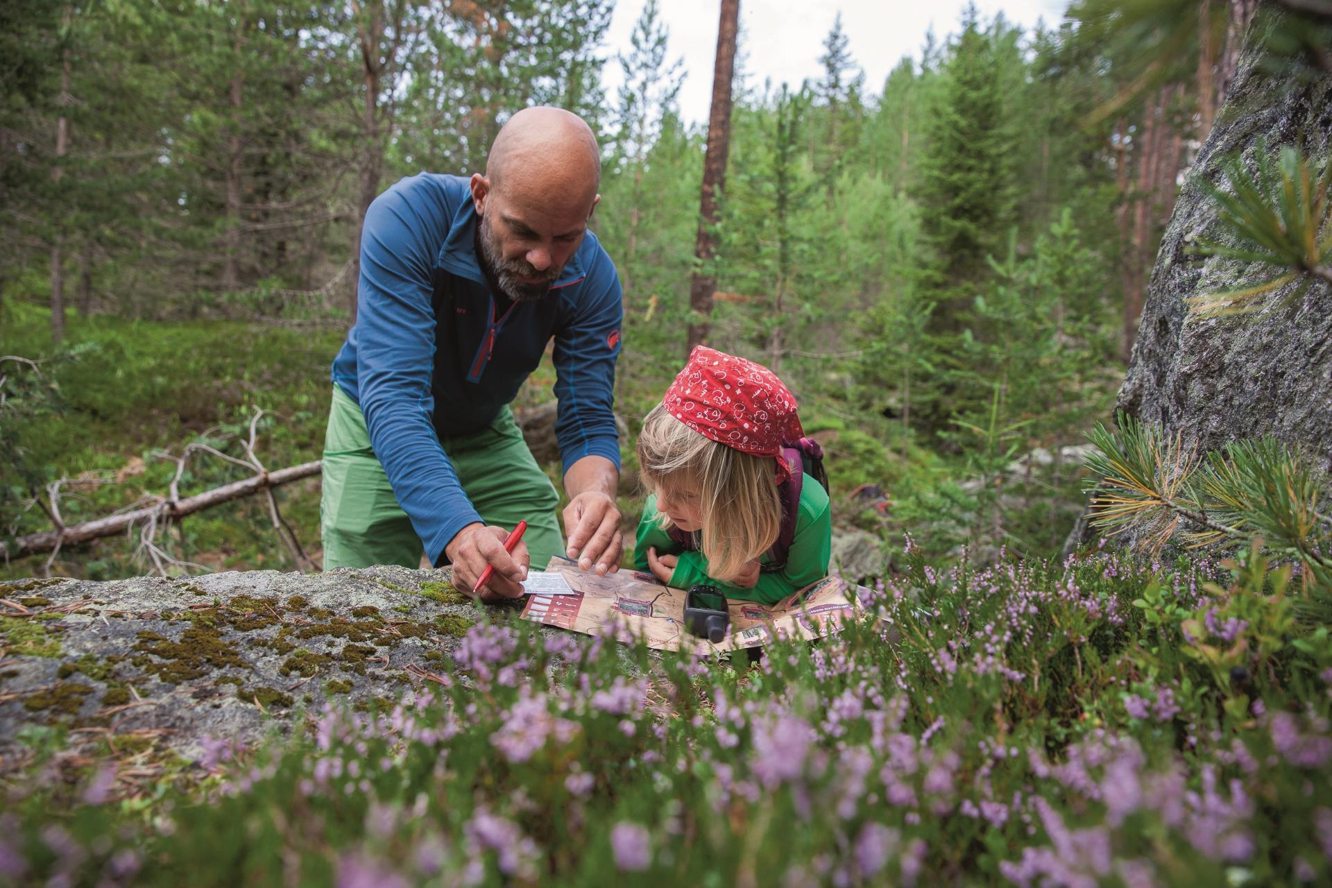 Familienurlaub Geocaching