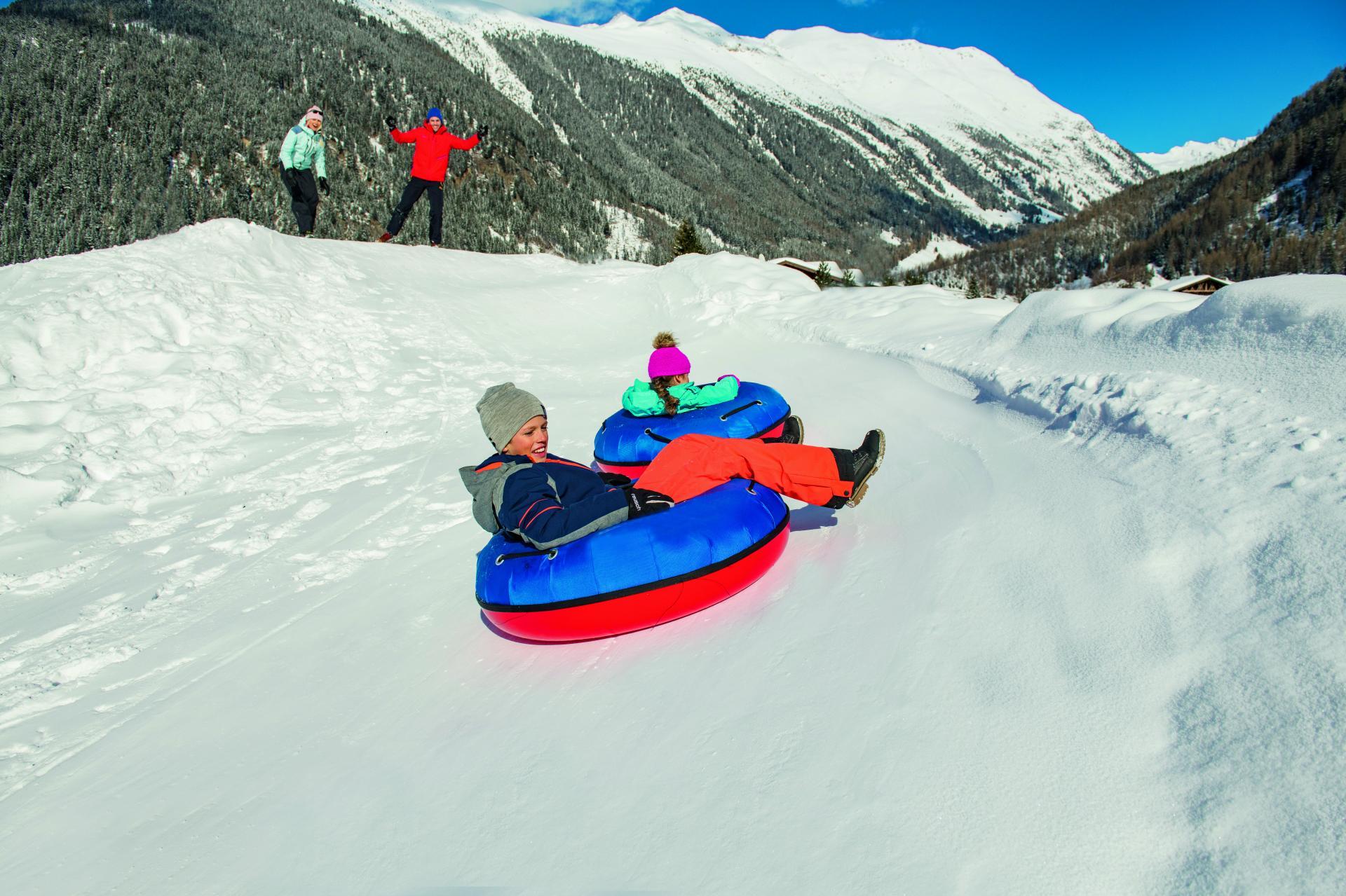 Snowtubing in Niederthai