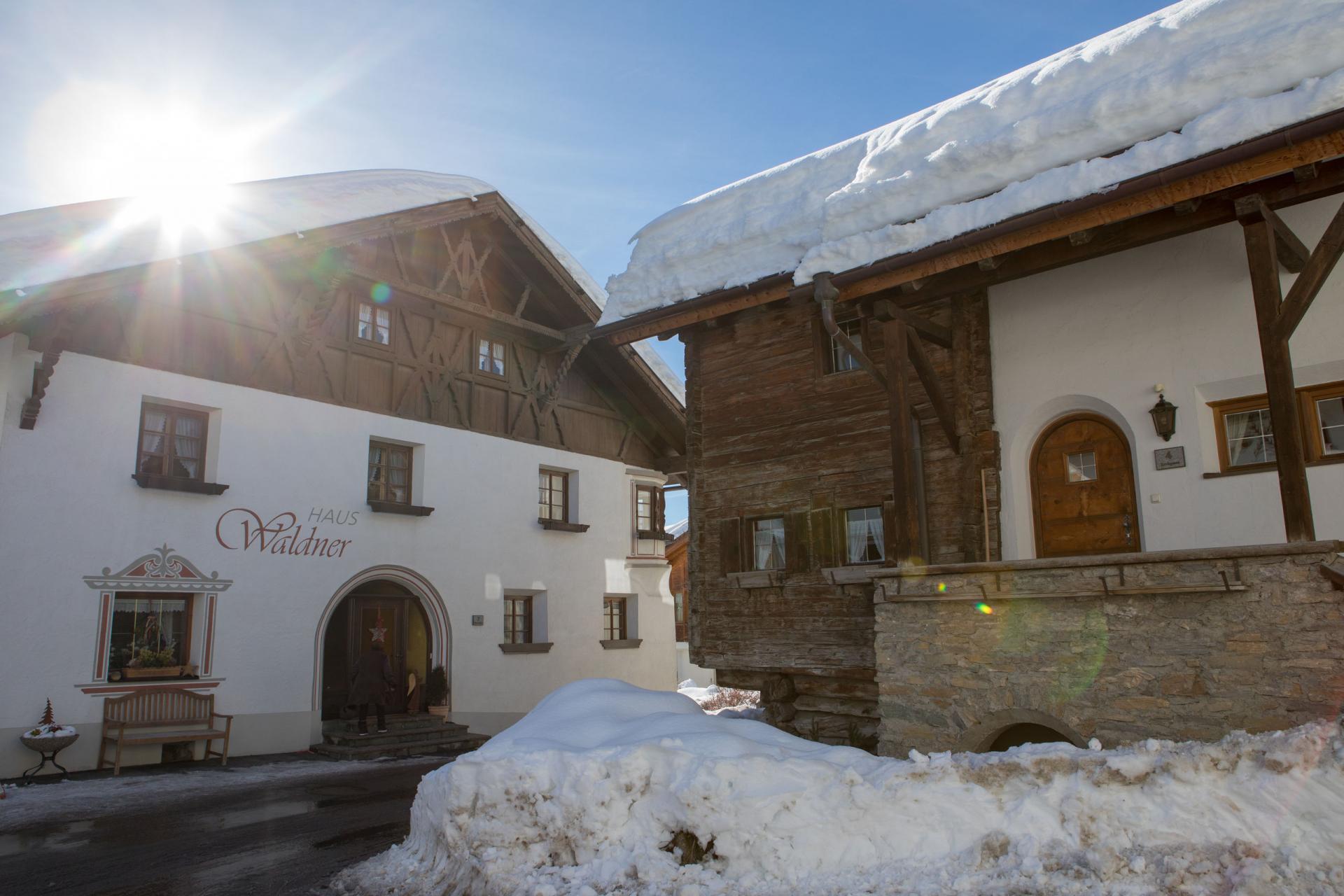 Haus Vogelweide #Bildergalerie#Winter