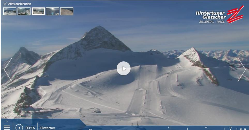Webcams Hintertux