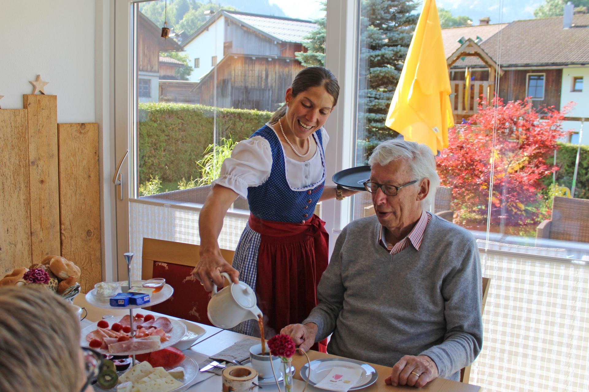 4 Sterne Zugspitzhof Ehrwald #Bildergalerie#Verpflegung