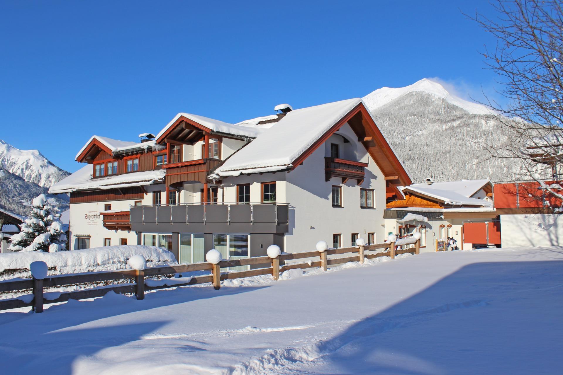 4 Sterne Zugspitzhof Ehrwald #Willkommen#Winter#Corona