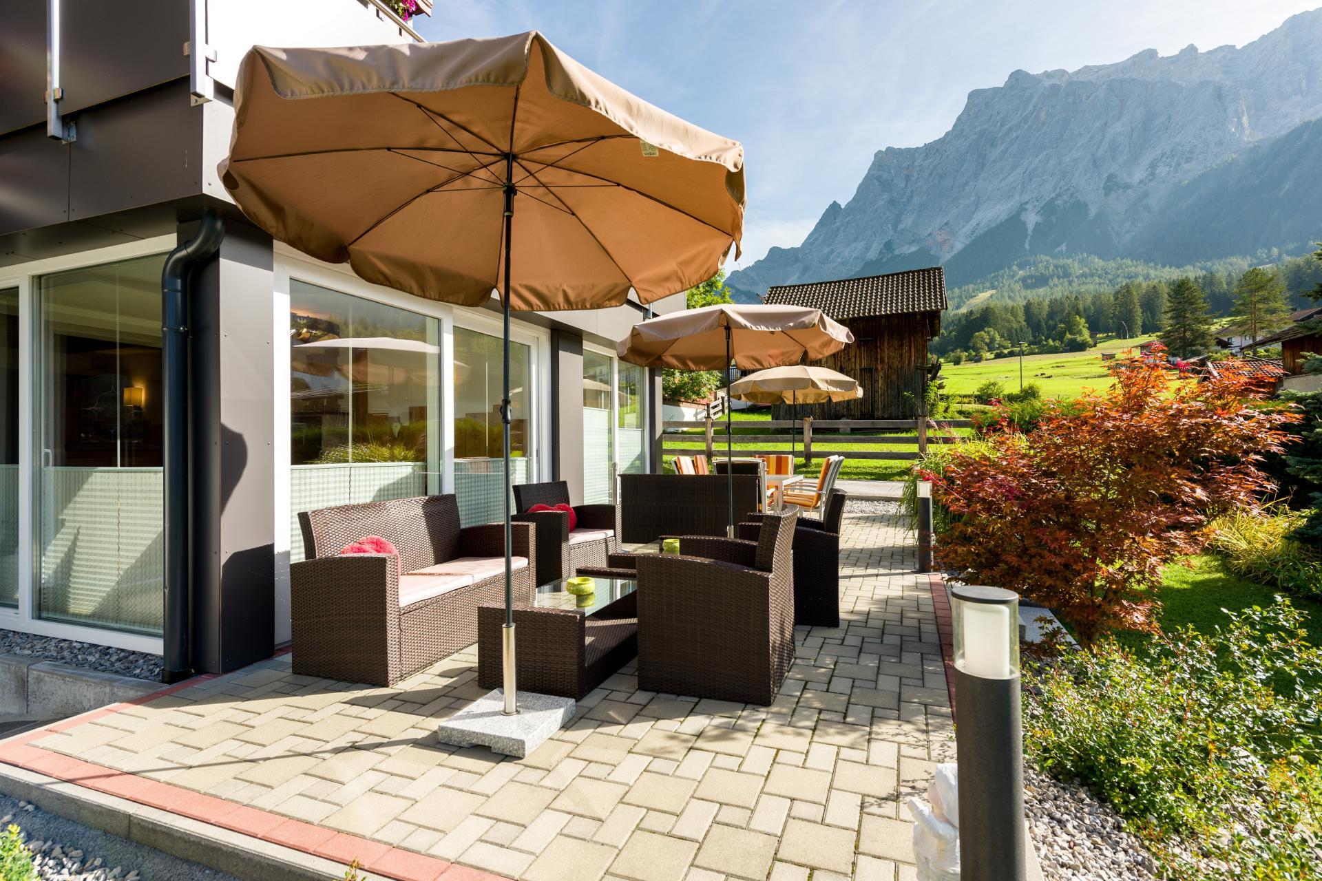 4 Sterne Zugspitzhof Ehrwald #Bildergalerie#Sommer